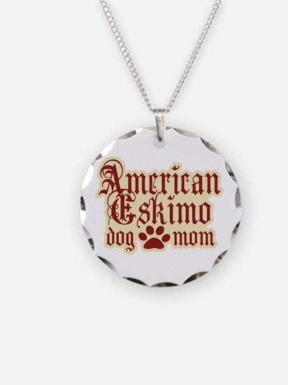 American Eskimo Mom Necklace
