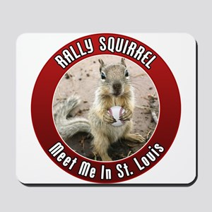 Rally Squirrel - The St Louis Mousepad