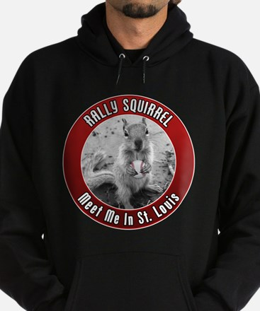 Rally Squirrel - The St Louis Hoodie (dark)