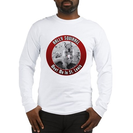 Rally Squirrel - The St Louis Long Sleeve T-Shirt