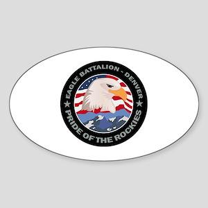 DUI - Denver Recruiting Bn Sticker (Oval)