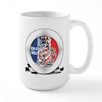 Mustang Plain Horse Large Mug