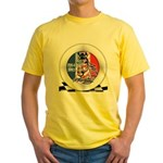 Mustang Plain Horse Yellow T-Shirt