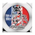 Mustang Plain Horse Tile Coaster