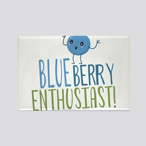 Blueberry Enthusiast Magnets