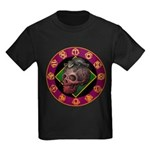 Lizard skull Kids Dark T-Shirt