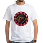 Lizard skull White T-Shirt