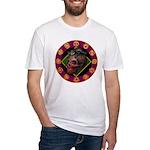 Lizard skull Fitted T-Shirt