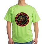 Lizard skull Green T-Shirt