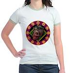 Lizard skull Jr. Ringer T-Shirt