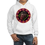Lizard skull Hooded Sweatshirt
