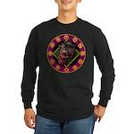 Lizard skull Long Sleeve Dark T-Shirt