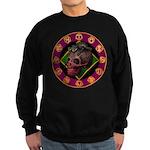 Lizard skull Sweatshirt (dark)