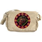 Lizard skull Messenger Bag