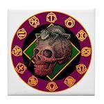 Lizard skull Tile Coaster