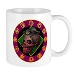 Lizard skull Mug