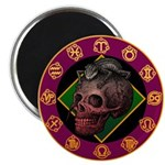 Lizard skull Magnet