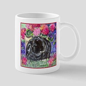 Black Lop Rabbit Mug