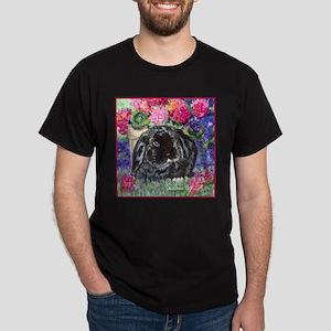Black Lop Rabbit Dark T-Shirt