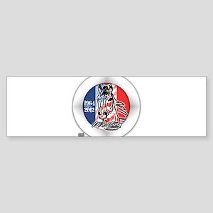 Mustang Horse Emblem Sticker (Bumper)
