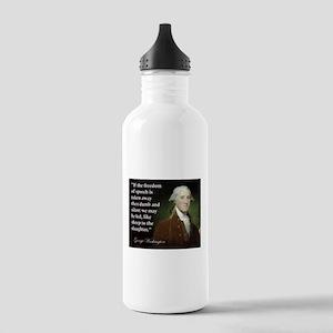 George Washington Freedom of Stainless Water Bottl