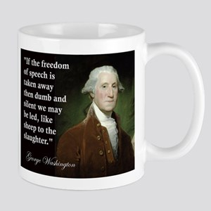 George Washington Freedom of Mug