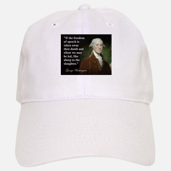 George Washington Freedom of Baseball Baseball Cap