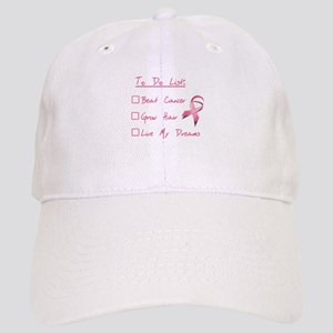 Breast Cancer To Do List Cap