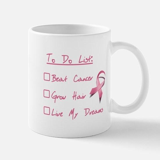 Breast Cancer To Do List Mug