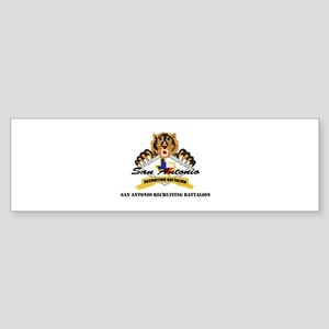 DUI - San Antonio Recruiting Bn Sticker (Bumper)