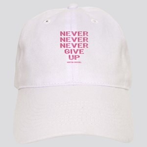 Breast Cancer Never Give Up Cap