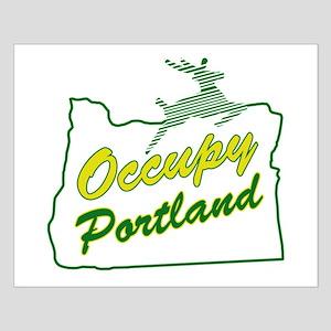 Occupy Portland Small Poster