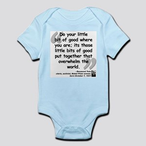 Tutu Good Quote Infant Bodysuit