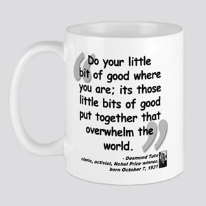 Tutu Good Quote Mug