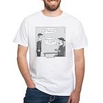 Custer's Last Sit White T-Shirt