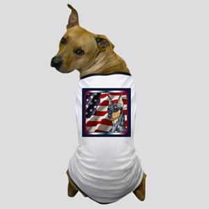 Miniature Pinscher Flag Dog T-Shirt