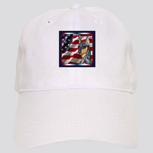 Miniature Pinscher Flag Cap