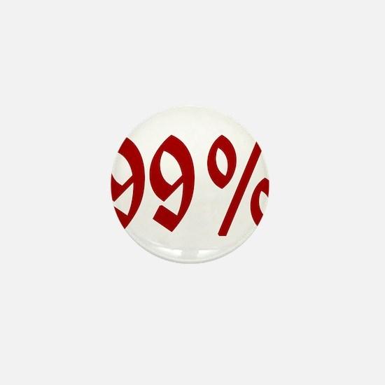 Unique Ninety nine percent Mini Button