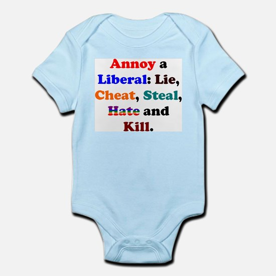 Annoy a Liberal Infant Creeper
