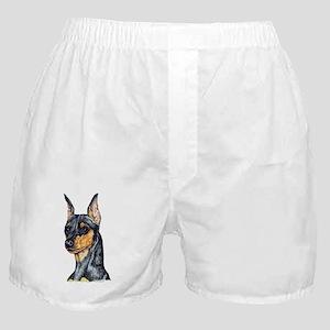 Miniature Pinscher Min Pin Boxer Shorts