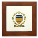 PICARD Family Crest Framed Tile