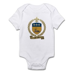 PICARD Family Crest Infant Creeper