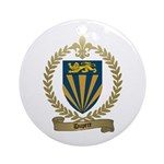 DUPERE Family Crest Ornament (Round)