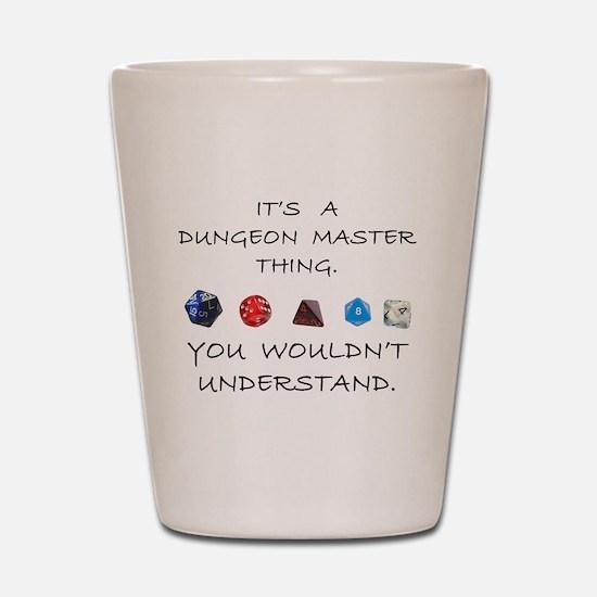 Dungeon Master Thing Shot Glass