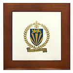 DUPERRE Family Crest Framed Tile