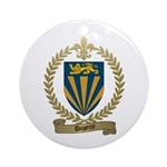 DUPERRE Family Crest Ornament (Round)