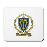 DUPERRE Family Crest Mousepad