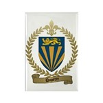 DUPERRE Family Crest Rectangle Magnet (100 pack)