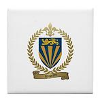 DUPERRE Family Crest Tile Coaster