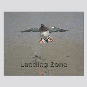 Duck Landing Small Poster